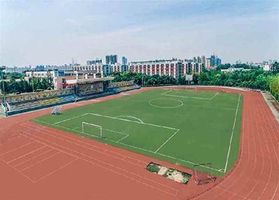 四川城市技师学院俯瞰图